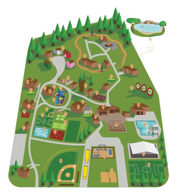 CDR Camp Map