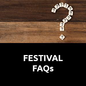 Festival FAQ's